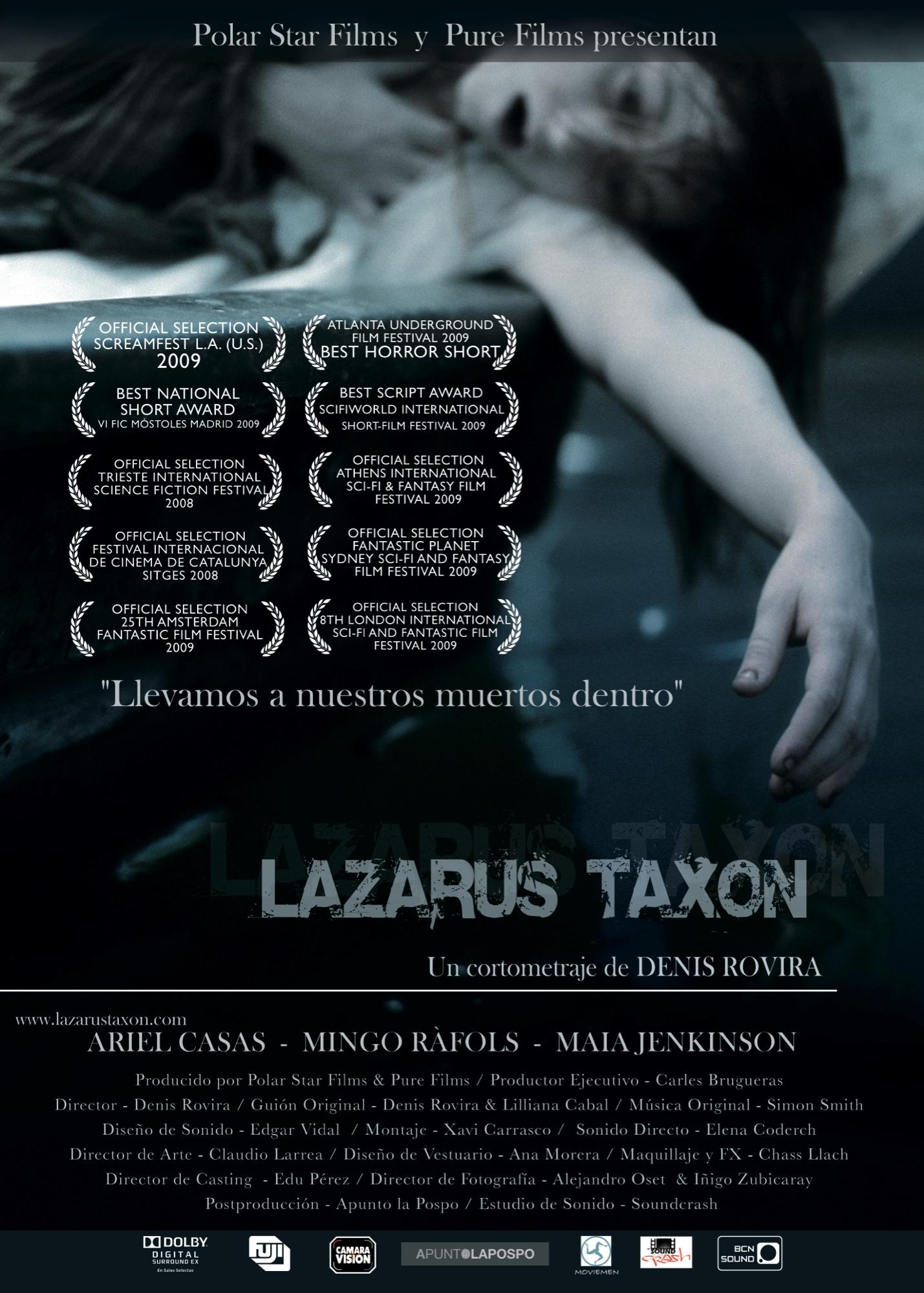 "Cortometraje ""Lazarus Taxon"""
